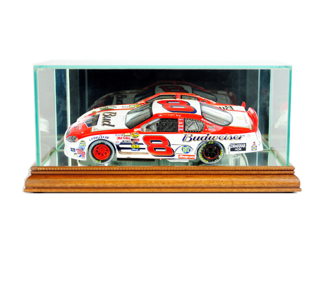 Nascar 1/24th Display Case with Walnut Moulding
