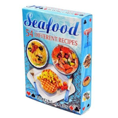 SeaFood Recipes Playing Cards - Deck of 54 cards