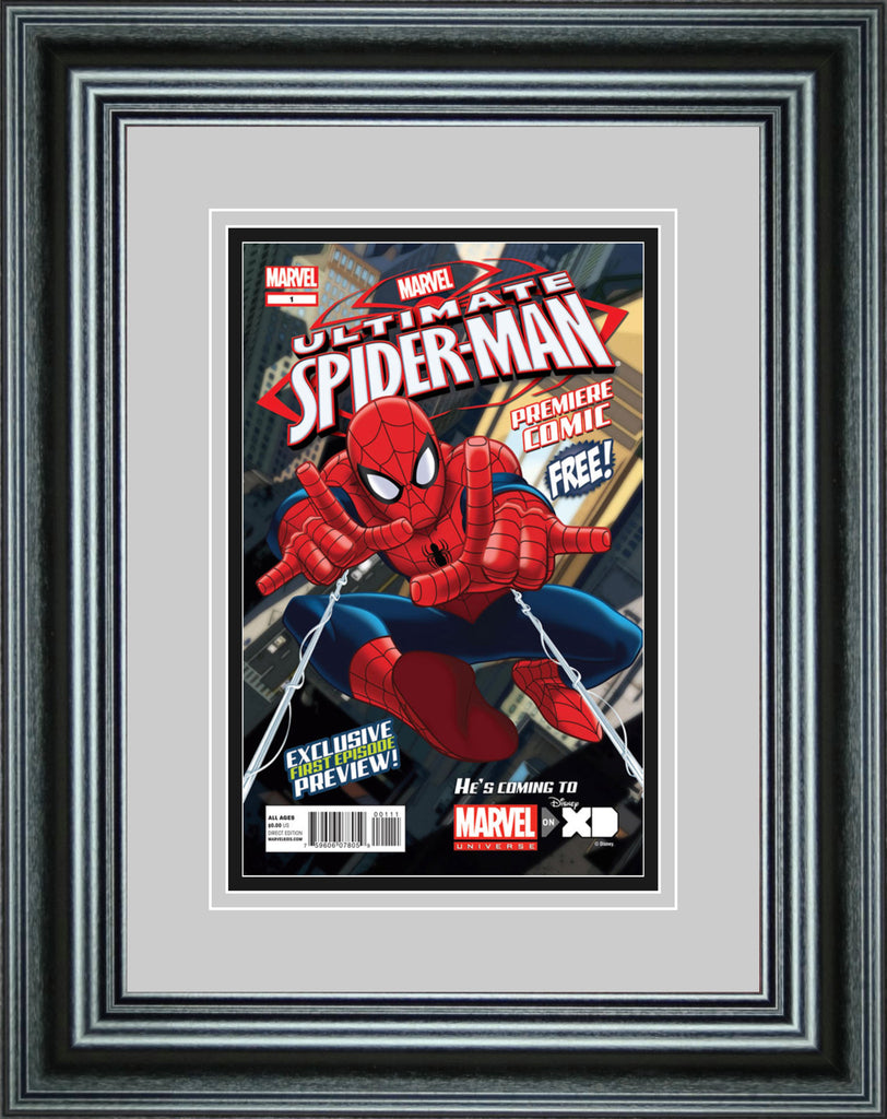 Single Comic Book Frame with Premium Moulding