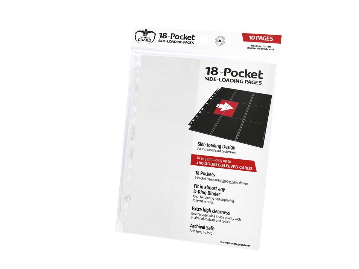 Ultimate Guard - Ultimate Guard Supreme Pages 18 Pocket Side Loading White 10-Count