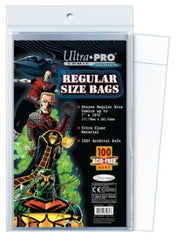 Ultra Pro - Ultra Pro Comic Bags Regular Size 100-Count