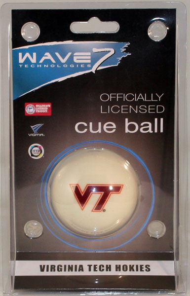 Virginia Tech Cue Ball