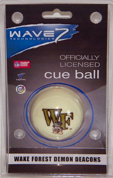 Wake Forest Cue Ball