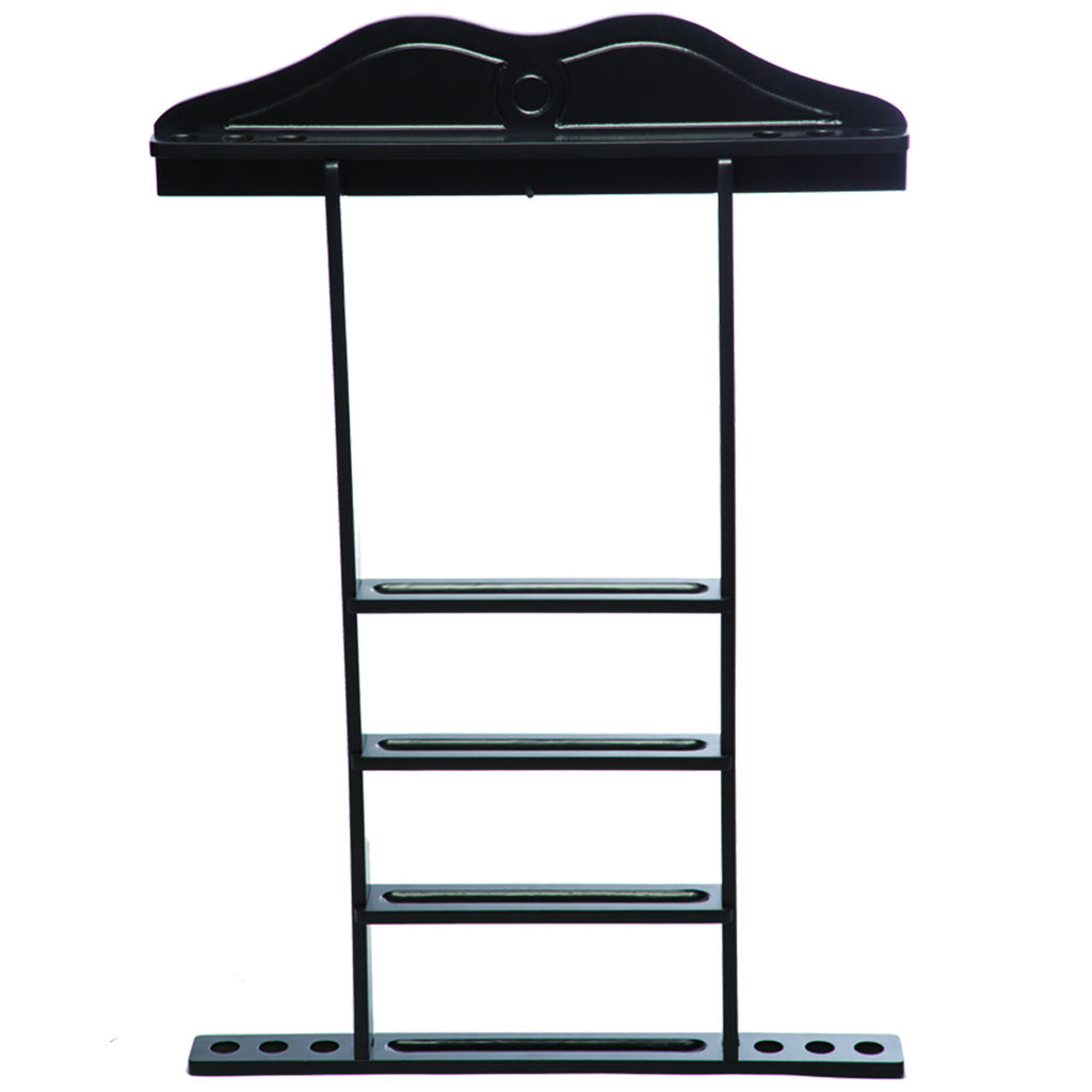 WALL CUE RACK - BLACK