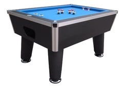 ''The Brickell'' Pro Slate Bumper Pool Table in Black