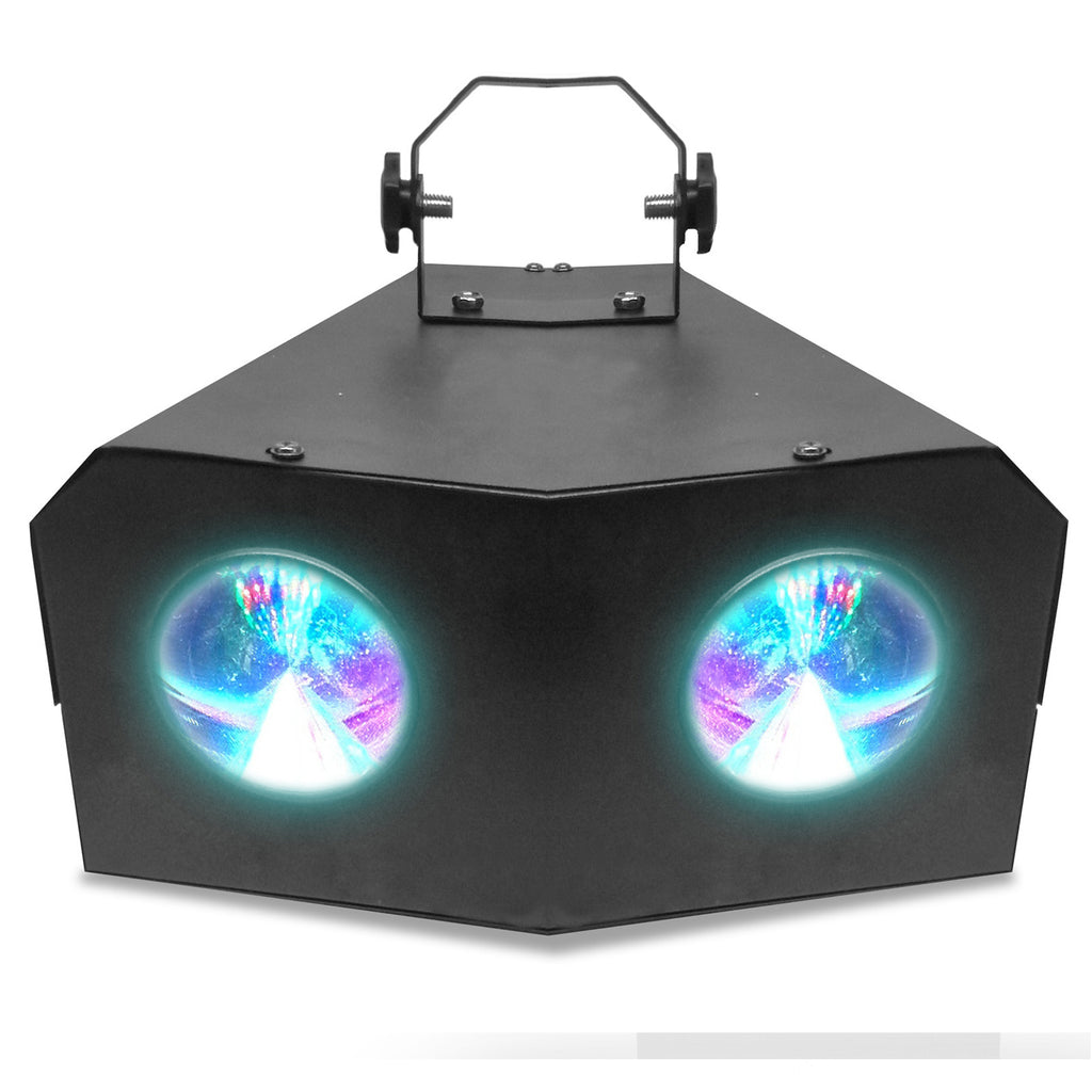 Technical Pro Professional DJ Multi Beam 128 LED Dual Lens Light with DMX