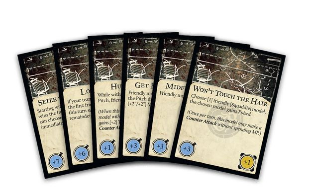 Steamforged Games - Guild Ball: Gameplan Deck