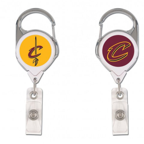 Cleveland Cavaliers Badge Holder Premium Retractable - Wincraft