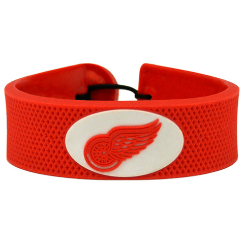 Detroit Red Wings Bracelet Team Color Hockey - Gamewear