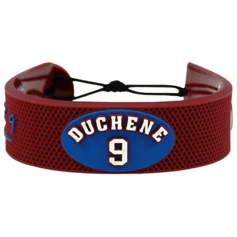 Colorado Avalanche Bracelet Team Color Jersey Matt Duchene Design - Gamewear