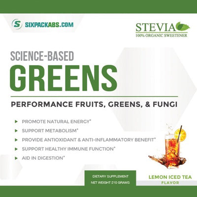 Science-Based Greens | Lemon Iced Tea
