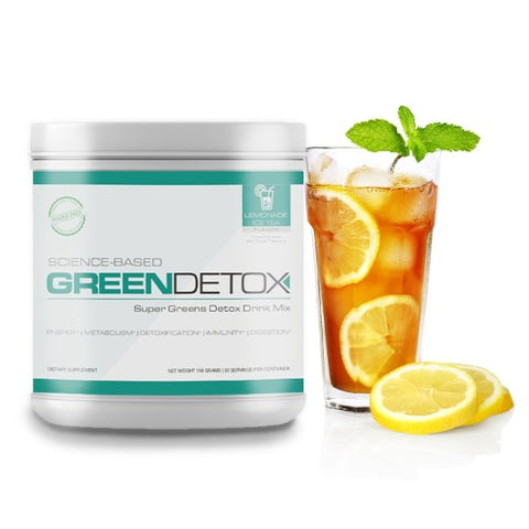 Green Detox Lemon Tea