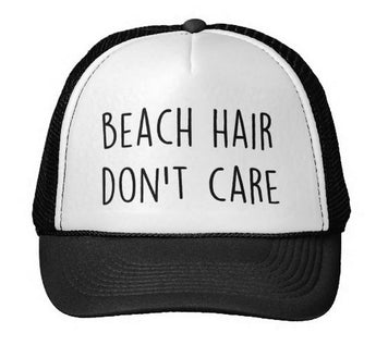 Beach Hair Trucker Hat