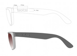 MR TUXEDO - black and white snap-in sides - SetsClub Interchangeable Sunglasses