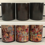 Rick And Morty Heat Sensitive Mug!