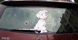 Dalmatian Rear Wiper Decal