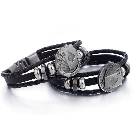 Straight Flush Poker Bracelet