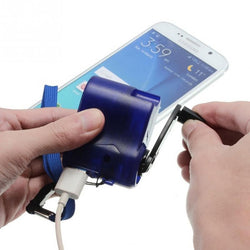One Stop Shop™ Hand Powered USB Charger