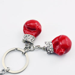 Boxing Gloves Key Chain