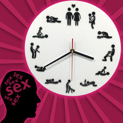 Karma Sutra Sex Position Clock