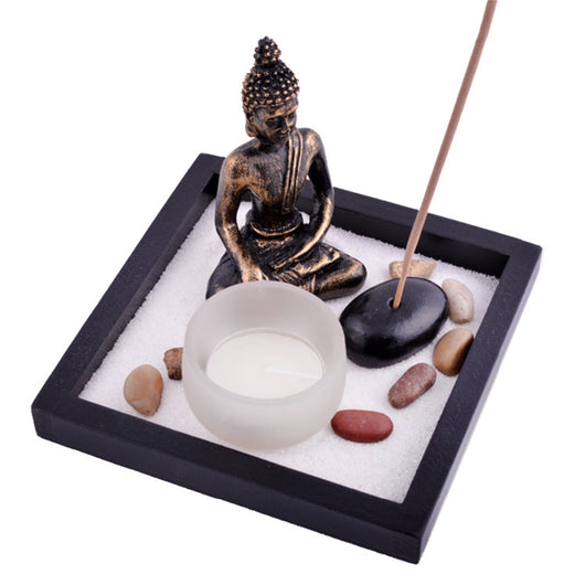 Zen Garden With Tealight Incense Holder Feng Shui