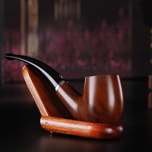 Durable Wooden Smoking Pipe