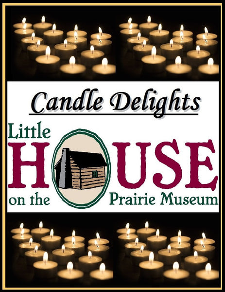 Candle Delights by Little House on the Prairie Museum