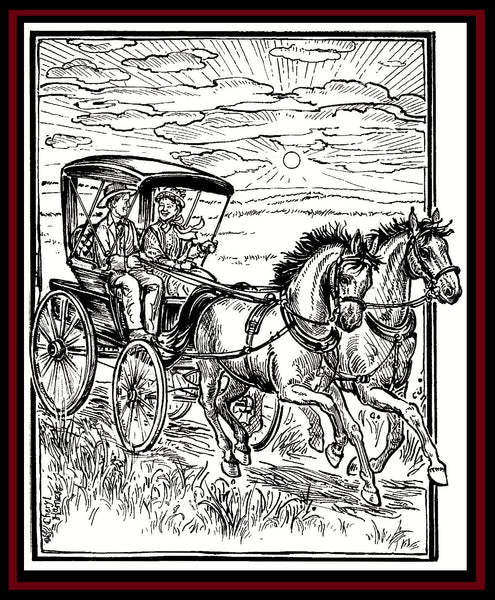 Laura Ingalls Wilder Coloring Book