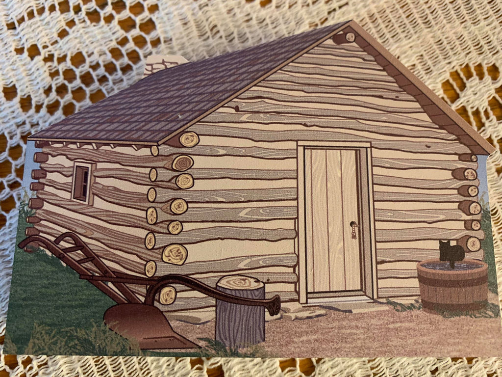 Cat's Meow Ingalls' Family Cabin and Hand-dug Well