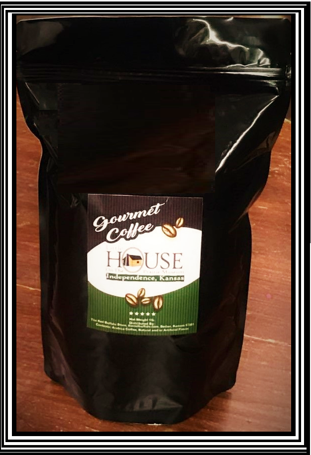 Little House Dark Roast Gourmet Coffee 1lb.