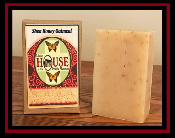 Shea Honey Oatmeal Organic Soap