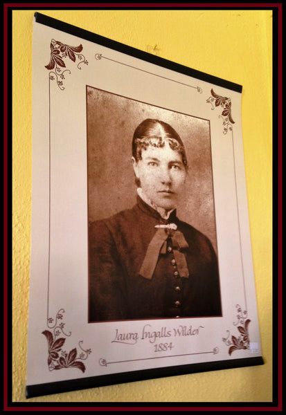 Poster of Laura Ingalls Wilder at 17 Years Old