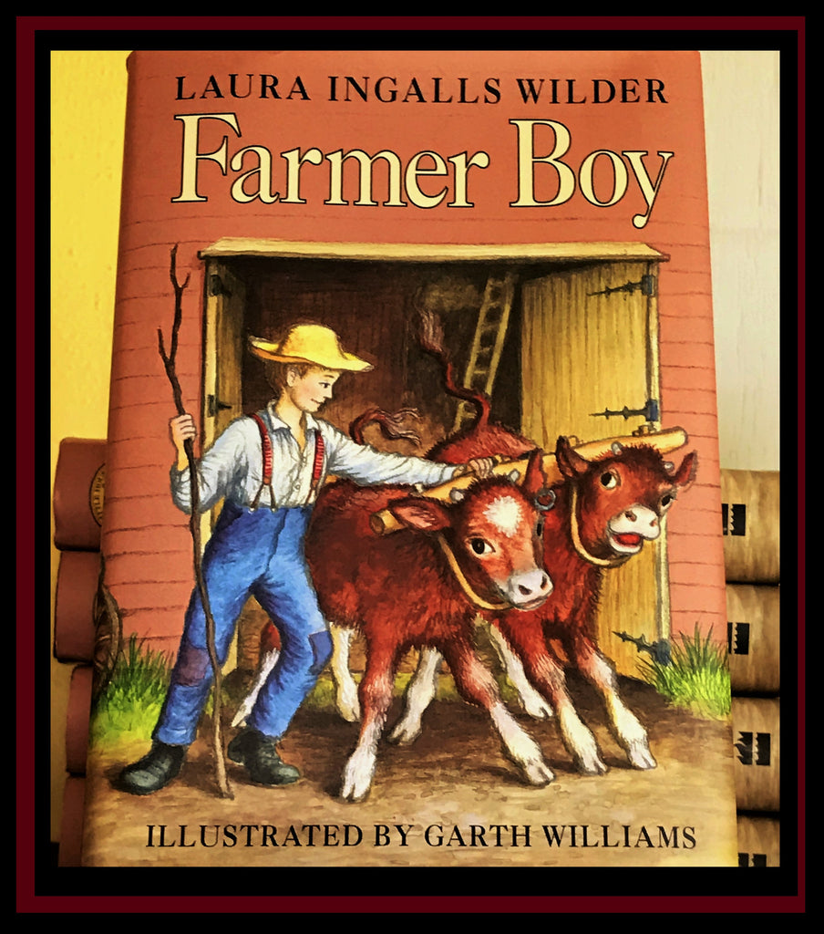 Hardback Farmer Boy by Laura Ingalls Wilder