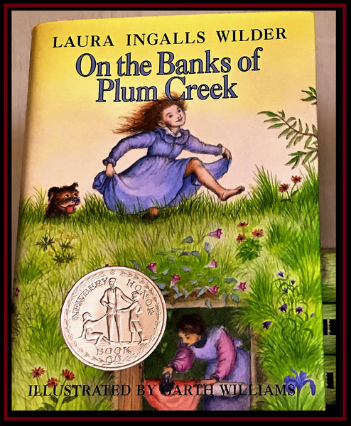 Hardback On the Banks of Plum Creek by Laura Ingalls Wilder