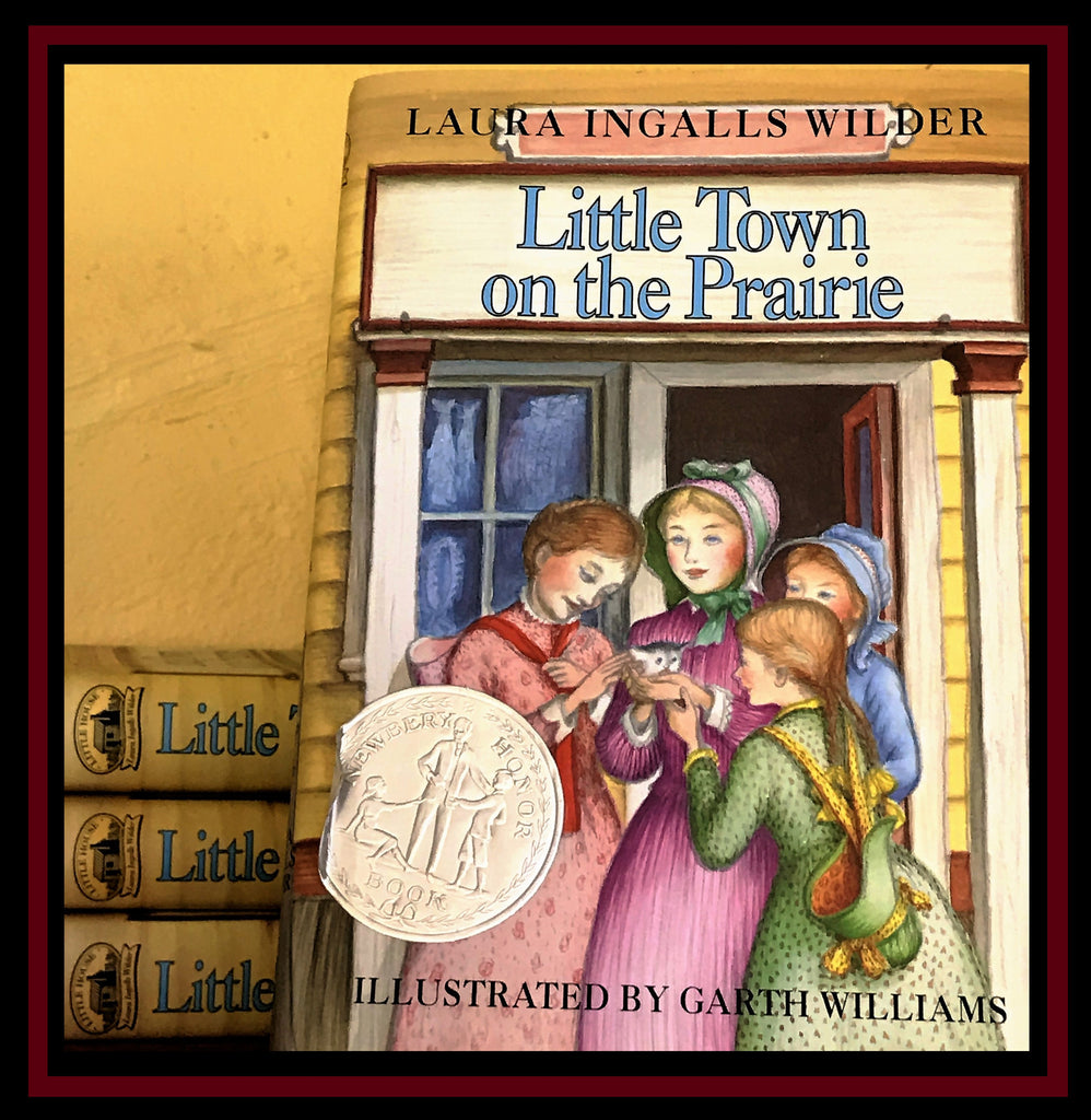 Hardback Little Town on the Prairie by Laura Ingalls Wilder