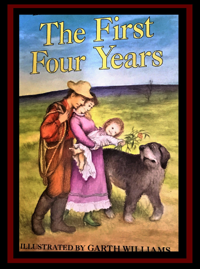 Paperback The First Four Years by Laura Ingalls Wilder
