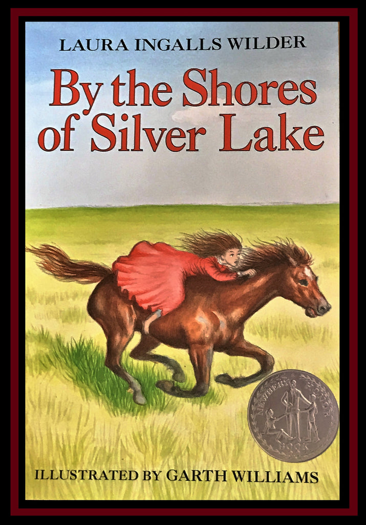 Paperback By The Shores of Silver Lake by Laura Ingalls Wilder