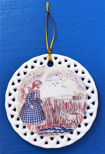A Collection of Ornaments from 1st Edition Little House on the Prairie and Little House in the Big Woods