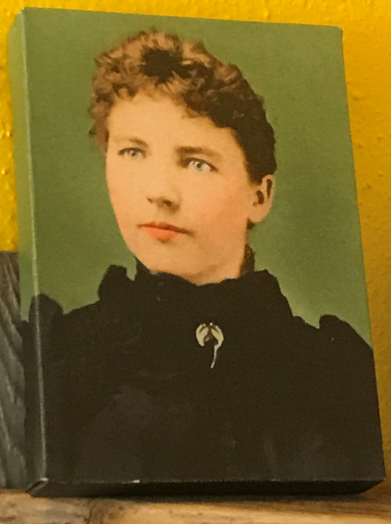 Canvas framed photo of Laura Ingalls Wilder