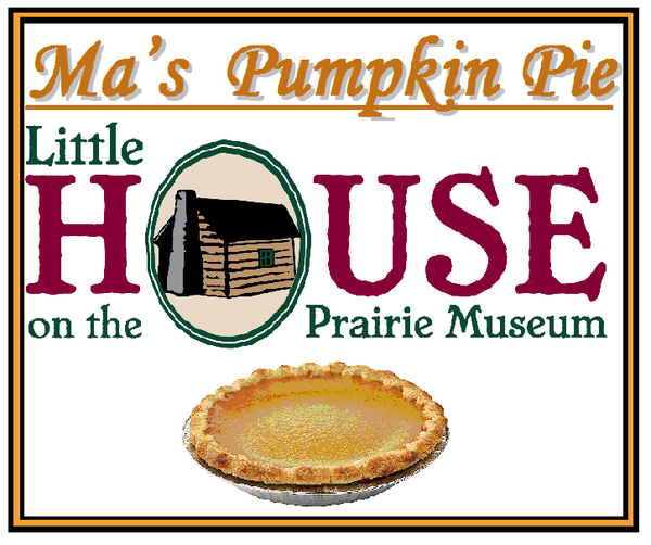 Ma's Pumpkin Pie Candle by Little House on the Prairie Museum