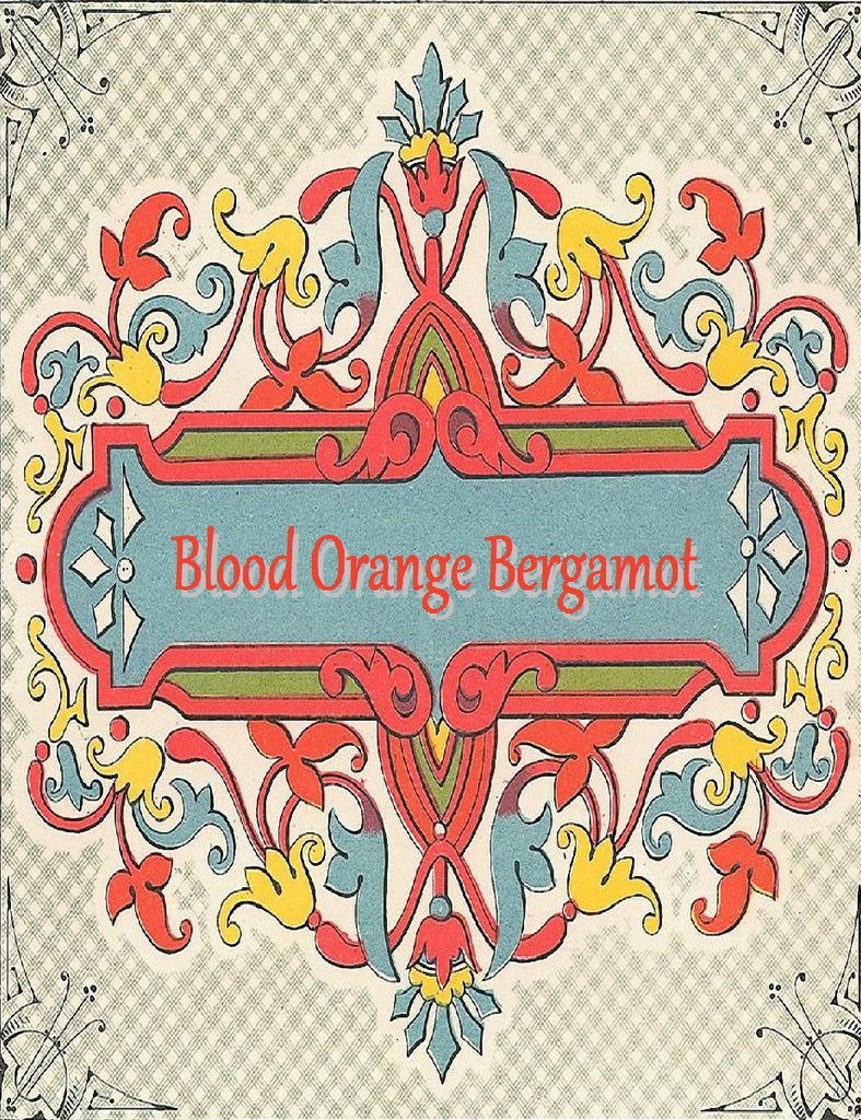 Blood Orange Bergamot Organic Soap