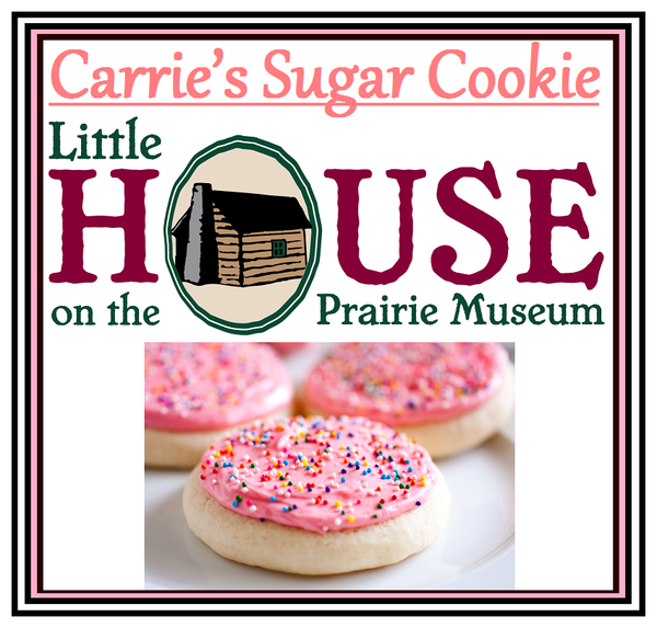Carrie's Sugar Cookie Candle by Little House on the Prairie Museum