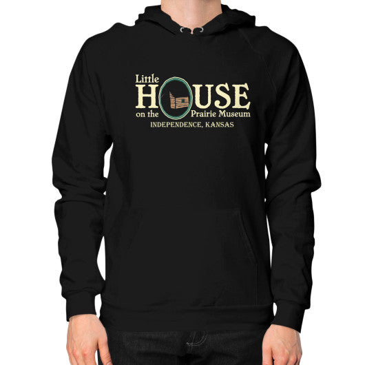 Hoodie (on man) Black Little House on the Prairie Museum