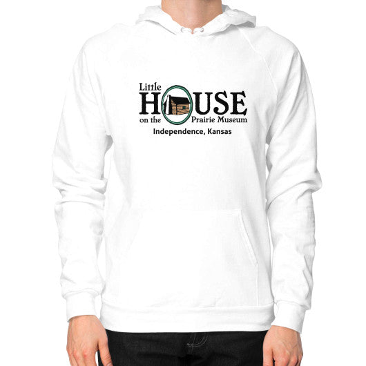 Hoodie (on man) White Little House on the Prairie Museum