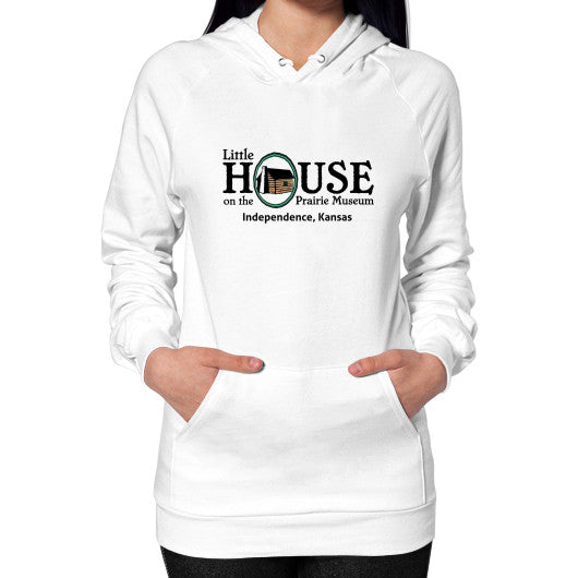 Hoodie (on woman) White Little House on the Prairie Museum