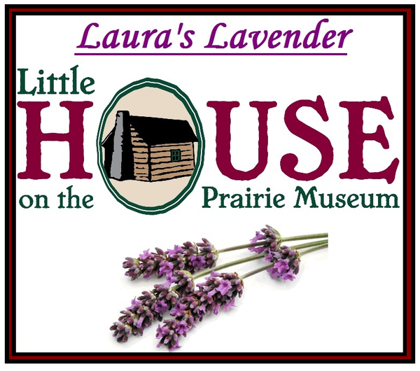 Laura's Lavender Candle by Little House on the Prairie Museum