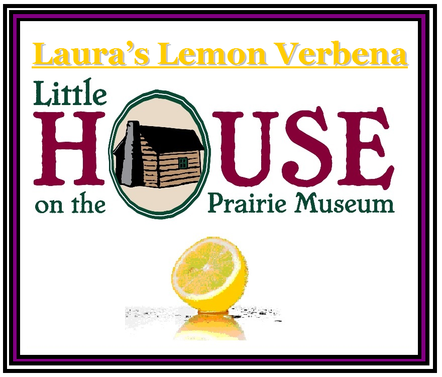 Laura's Lemon Verbena Candle by Little House on the Prairie Museum