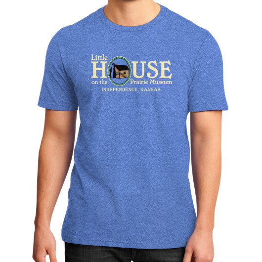 Little House on the Prairie Museum T-Shirt Heather blue Little House on the Prairie Museum