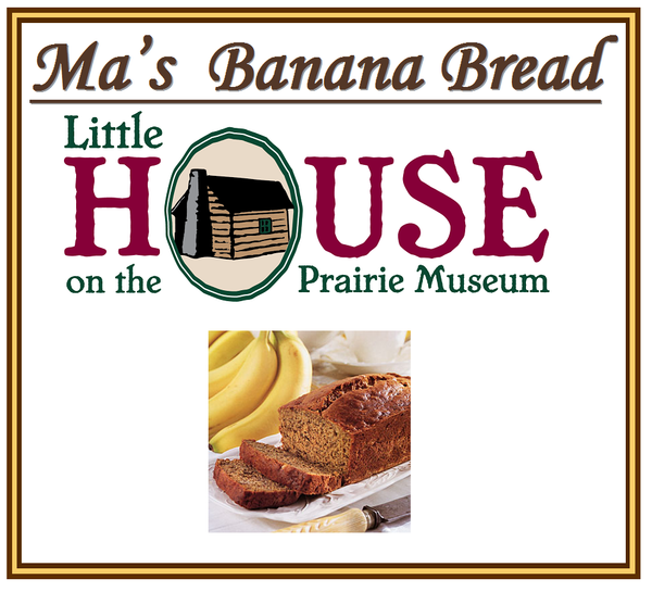 Ma's Banana Bread Candle by Little House on the Prairie Museum