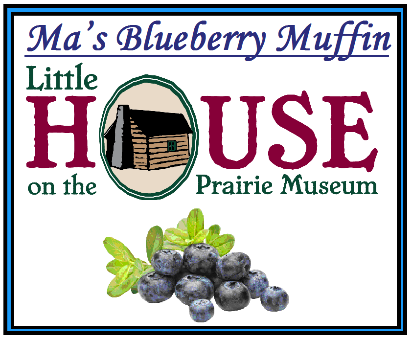 Ma's Blueberry Muffin Candle by Little House on the Prairie Museum